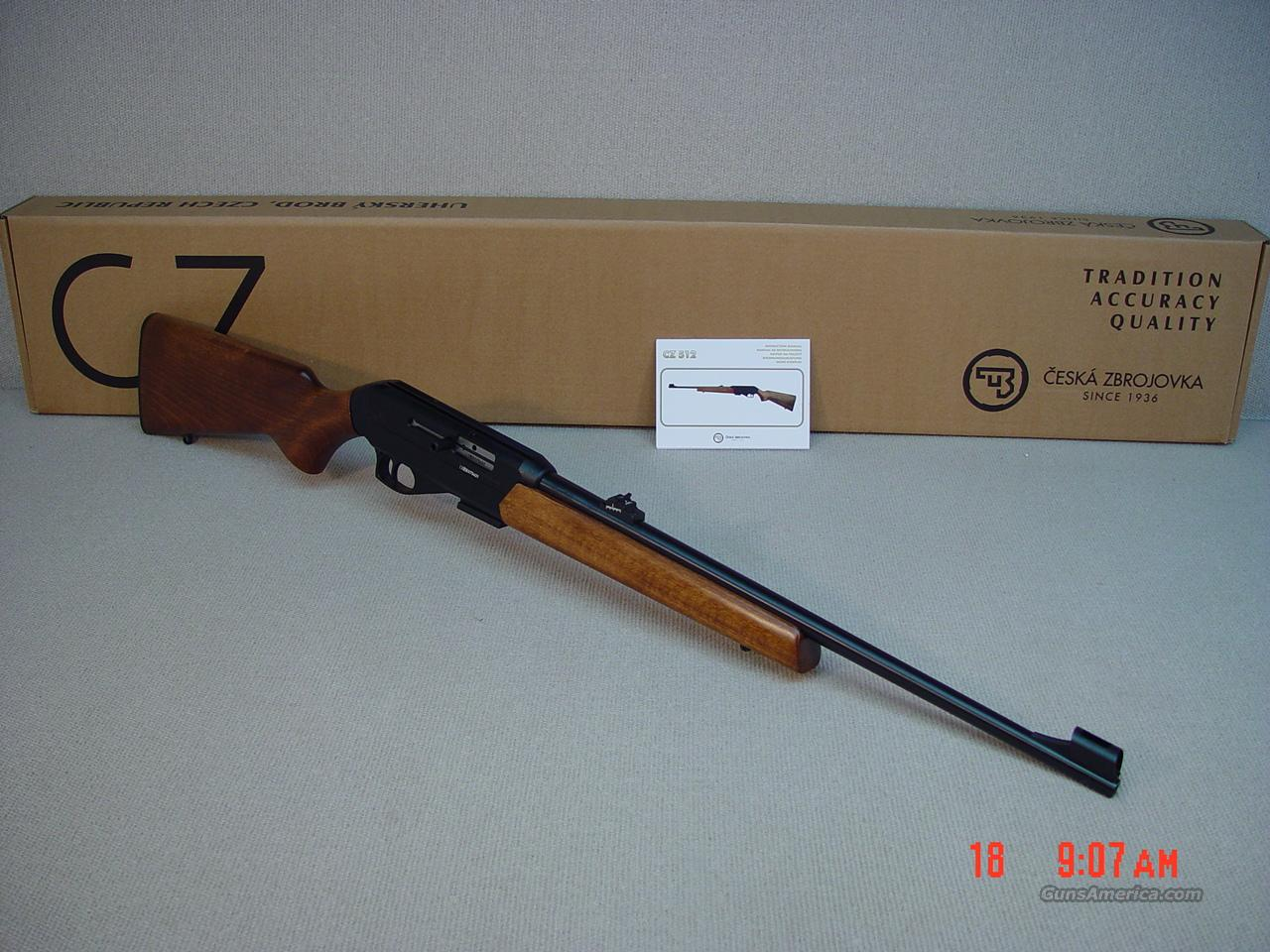 CZ 512 22 WMR Semi Automatic   Guns > Rifles > CZ Rifles