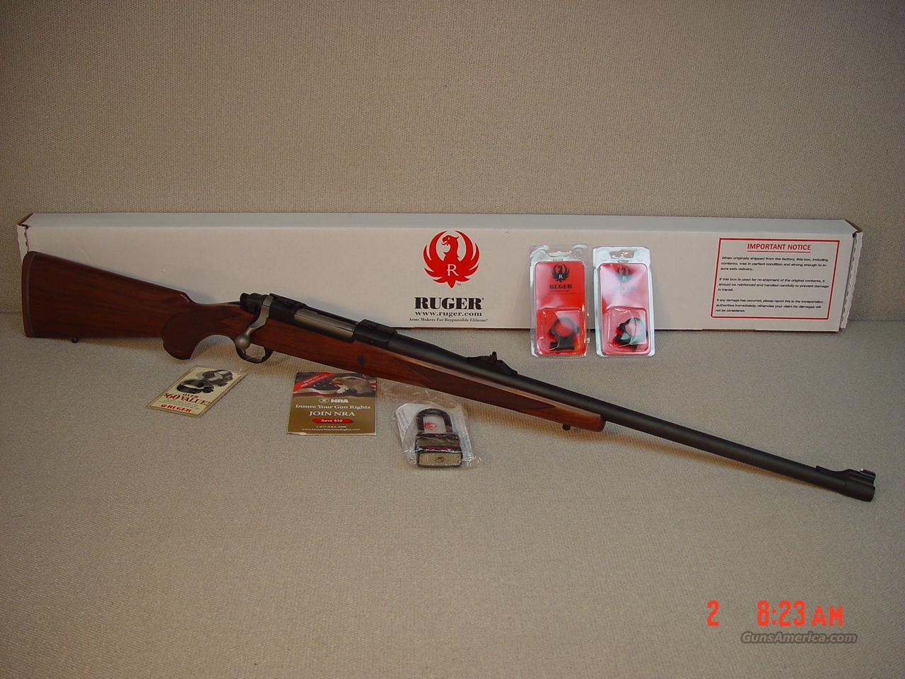 RUGER M77 HAWKEYE 375 RUGER AFRICAN  Guns > Rifles > Ruger Rifles > Model 77