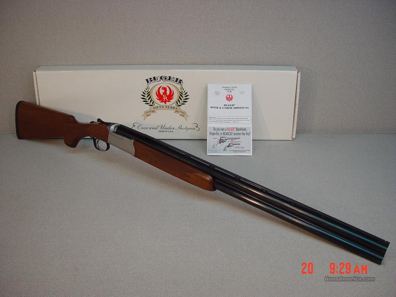 "RUGER RED LABEL 12GA 28""  Guns > Shotguns > Ruger Shotguns > Hunting"