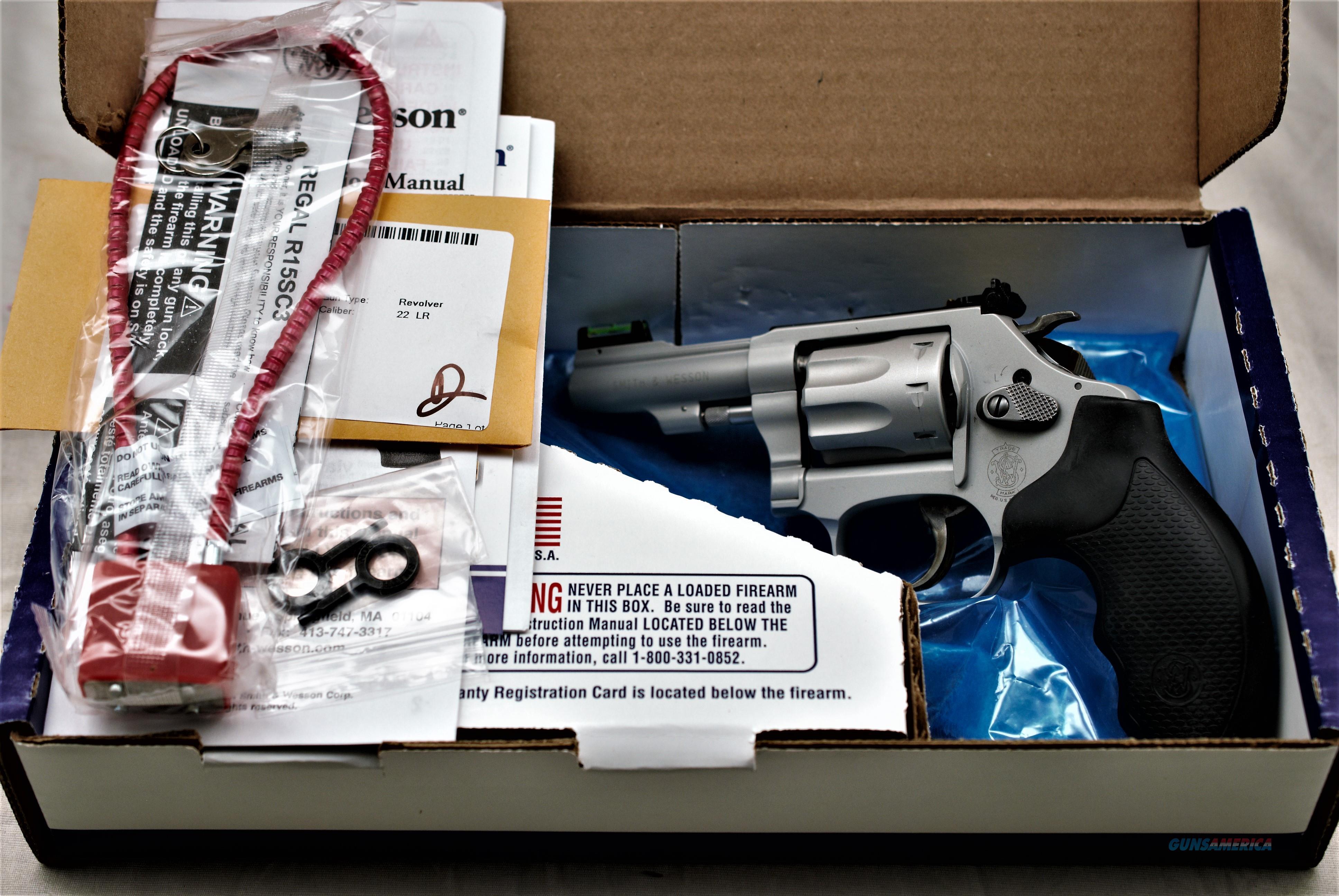 S & W 317-3 22 lr Airlite Kit gun   Guns > Pistols > Smith & Wesson Revolvers > Small Frame ( J )