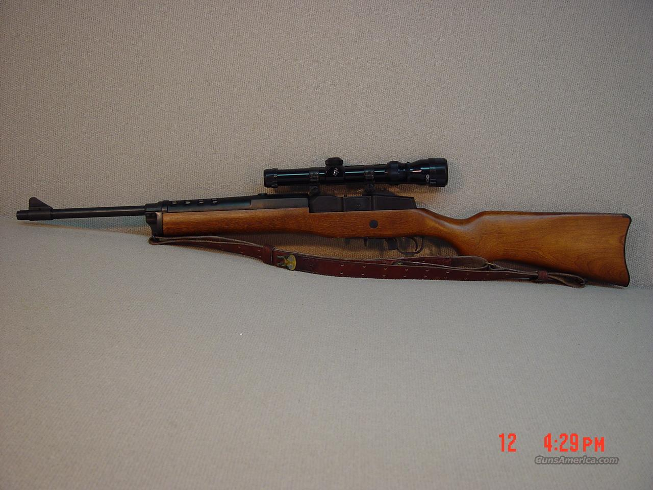 RUGER MINI 30 RANCH RIFLE with SCOPE 7.63X39  Guns > Rifles > Ruger Rifles > Mini-14 Type
