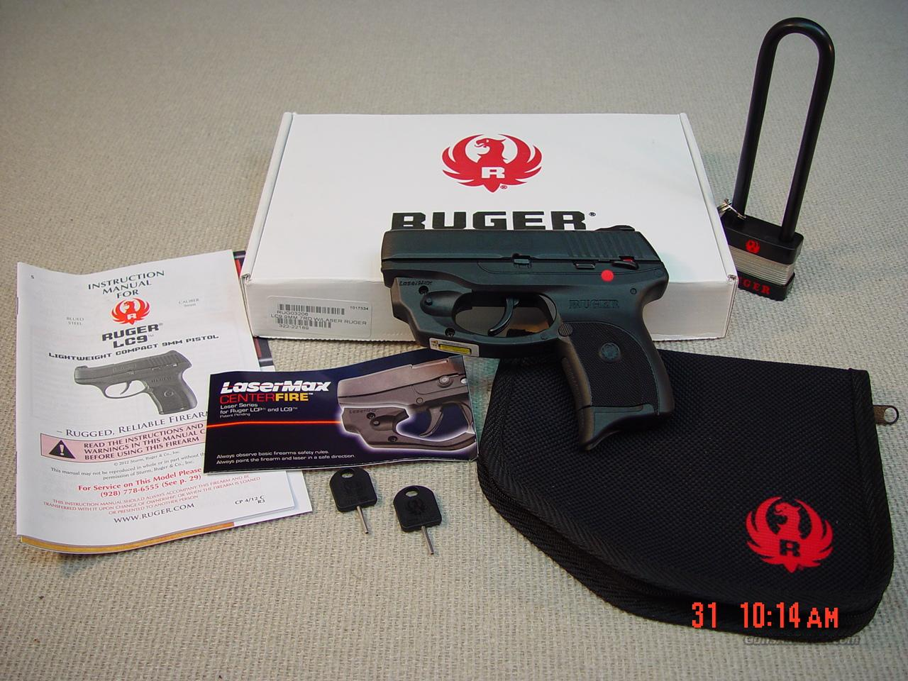 RUGER LC9 with LAZERMAX SIGHT   Guns > Pistols > Ruger Semi-Auto Pistols > LC9