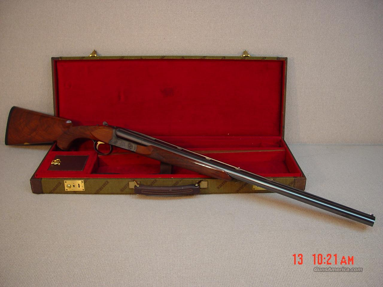 WINCHESTER Model 23 CLASSIC 12GA with CASE  Guns > Shotguns > Winchester Shotguns - Modern > SxS