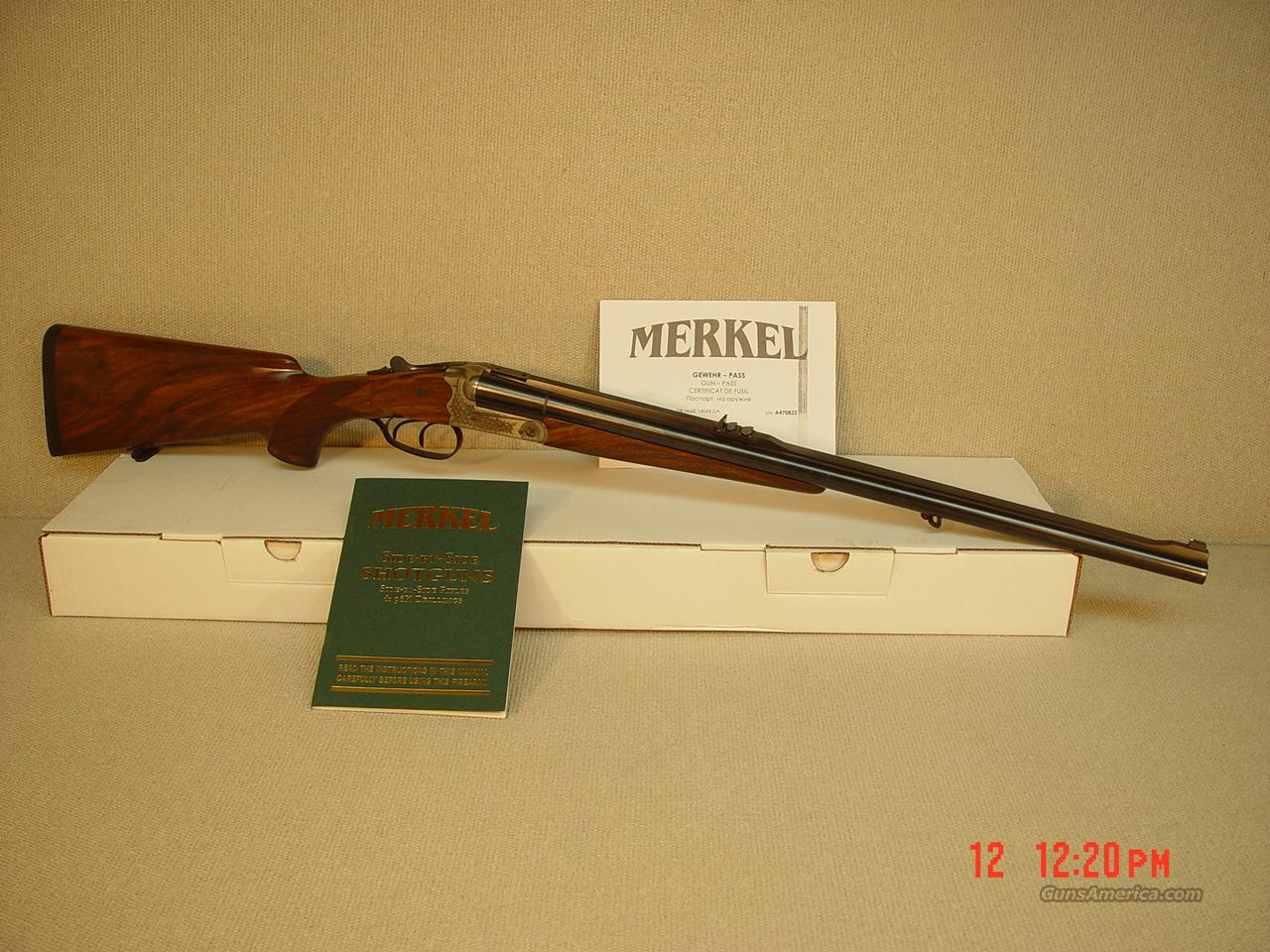 MERKEL Model 140-2 470NE CAL  Guns > Rifles > Merkel Rifles