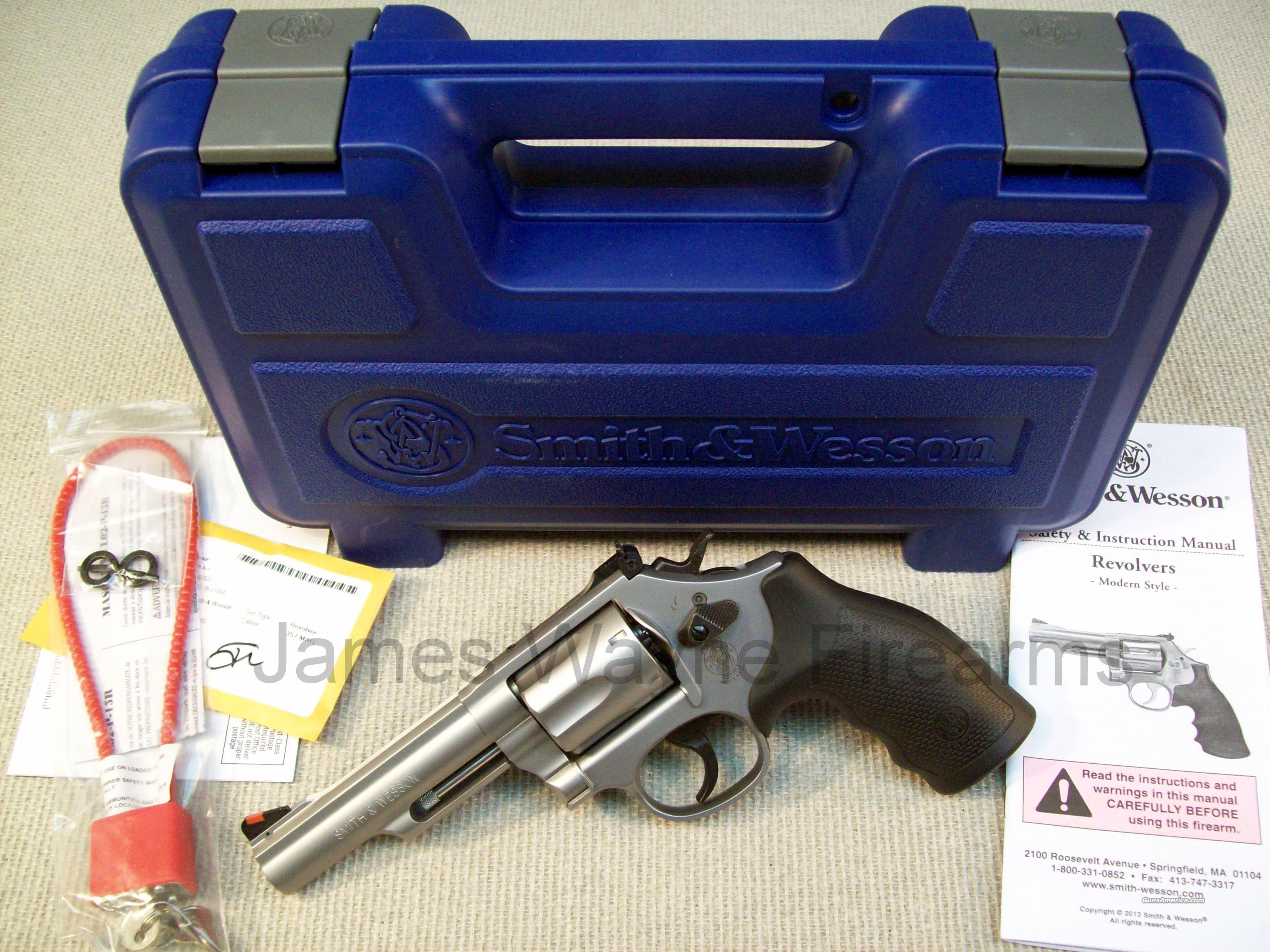 SMITH & WESSON MODEL 66 357 MAG COMBAT MAGNUM  Guns > Pistols > Smith & Wesson Revolvers > Full Frame Revolver