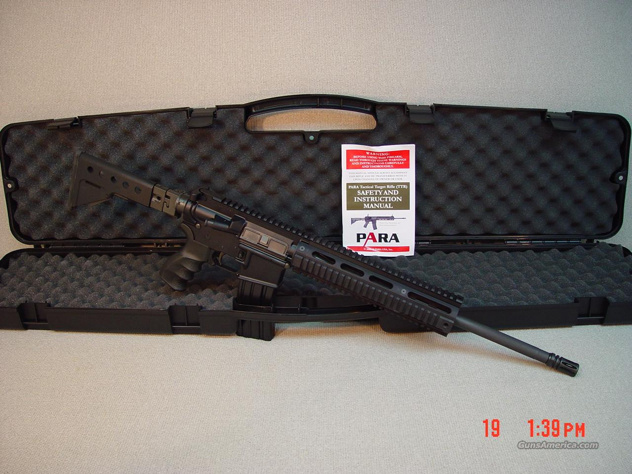 PARA TACTICAL TARGET RIFLE 223CAL  Guns > Rifles > Tactical/Sniper Rifles