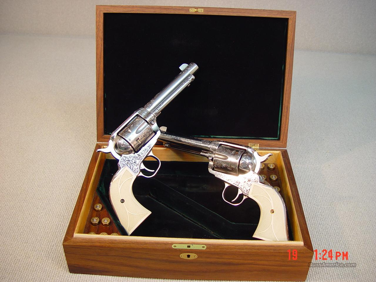 RUGER VAQUERO MATCHED PAIR 44MAG  Guns > Pistols > Ruger Single Action Revolvers > Cowboy Action
