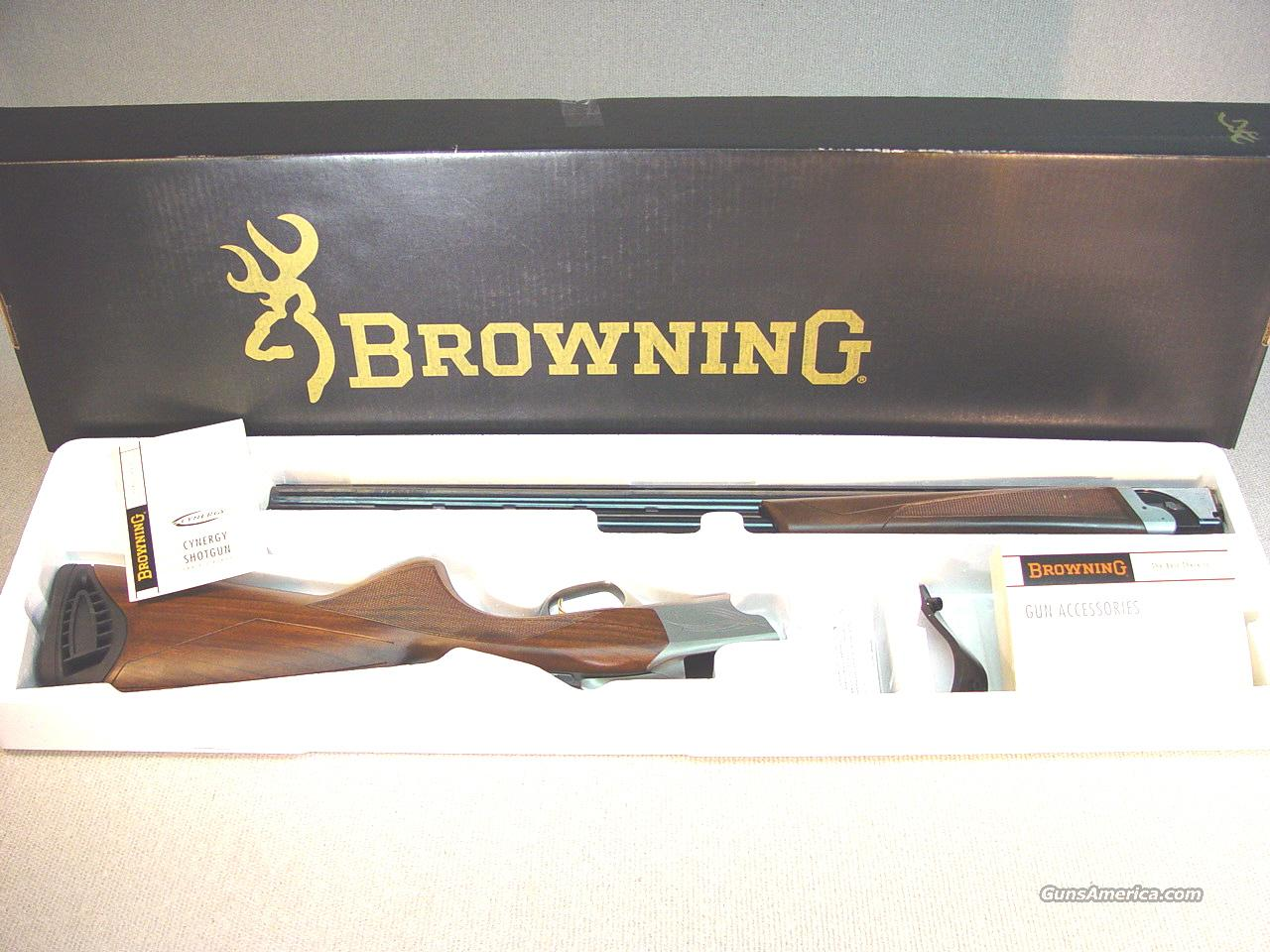 "BROWNING CYNERGY FIELD WALNUT 26""  Guns > Shotguns > Browning Shotguns > Over Unders"