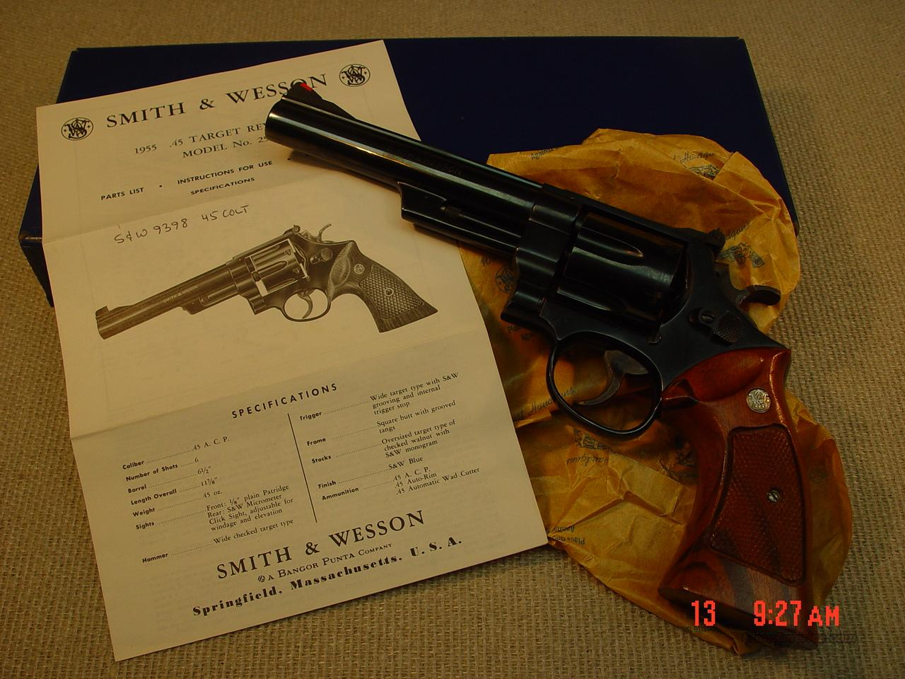 SMITH & WESSON Model 25-5  Guns > Pistols > Smith & Wesson Revolvers > Full Frame Revolver