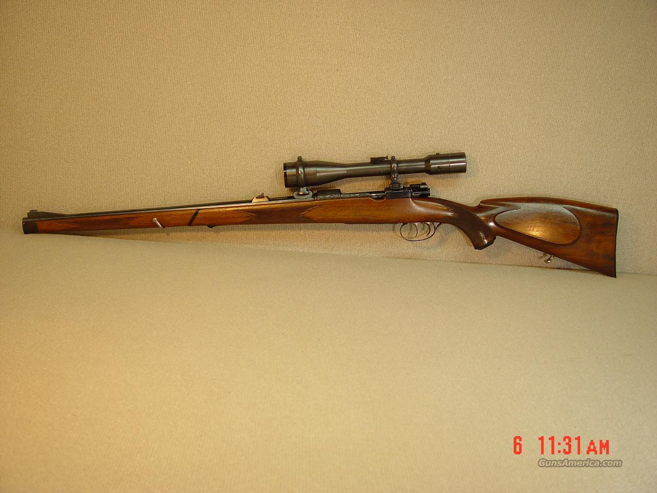 HERMANN WEIHRAUCH CUSTOM Model 98 with SCOPE  Guns > Rifles > Custom Rifles > Bolt Action
