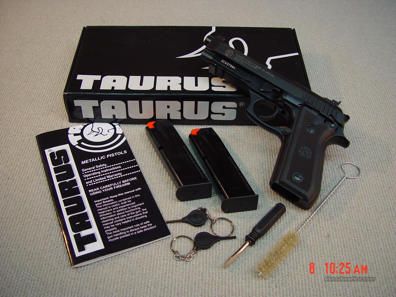 TAURUS PT101AF .40S&W ADJ. SIGHTS with TWO MAGAZINES  Guns > Pistols > Taurus Pistols/Revolvers > Pistols > Steel Frame