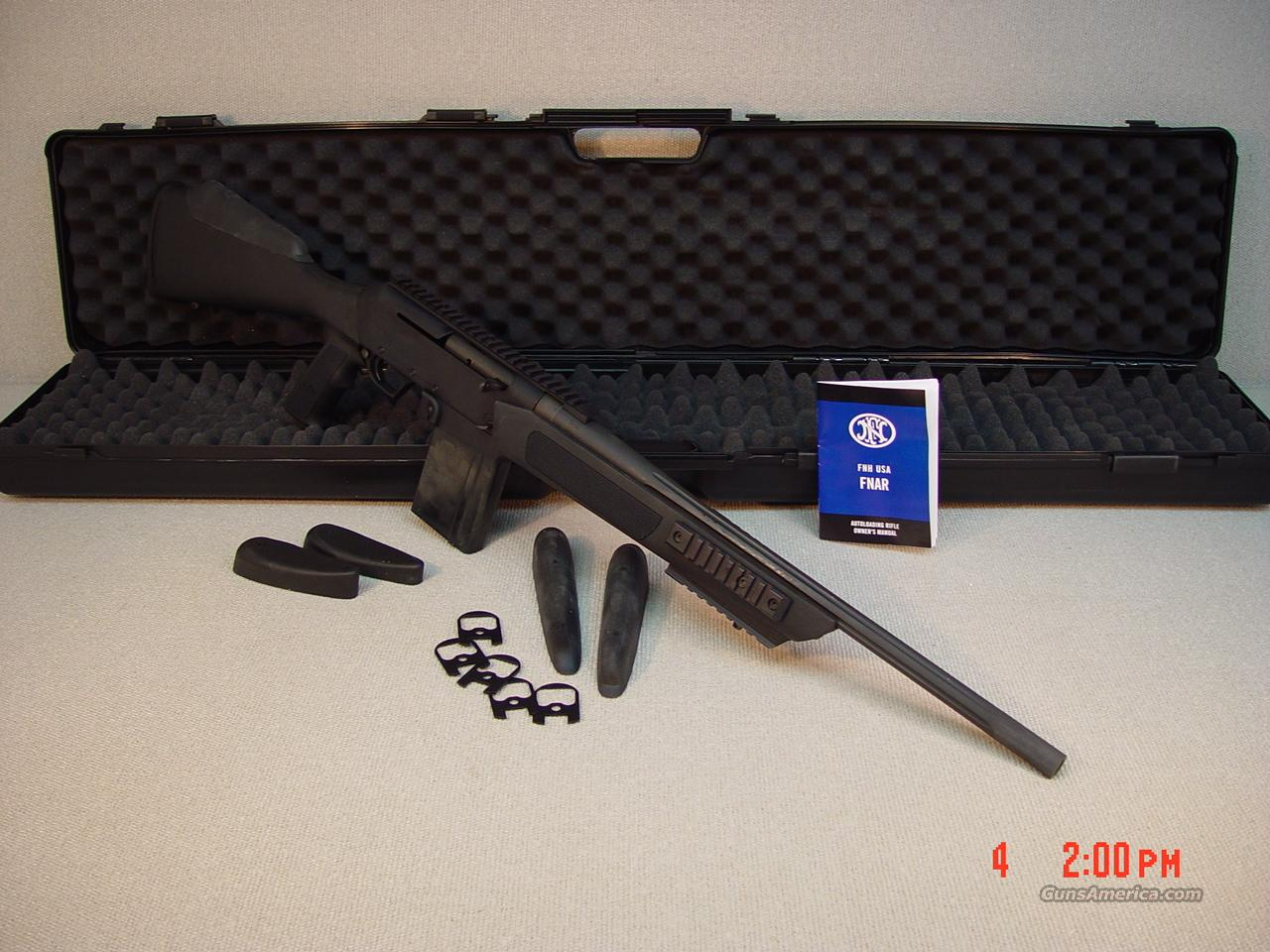 "FN FNAR 308WIN 20"" BARREL (NIB)  Guns > Rifles > FNH - Fabrique Nationale (FN) Rifles > Semi-auto > Other"