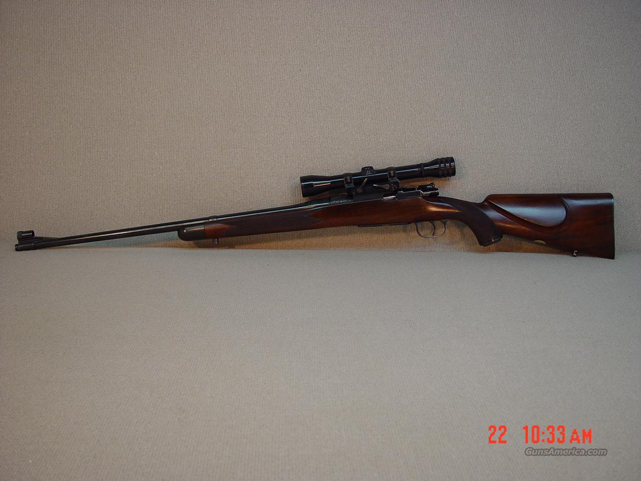 GRIFFIN & HOWE MAUSER with SCOPE -JOE FUGGER ENGRAVED  Guns > Rifles > Griffin and Howe Rifles