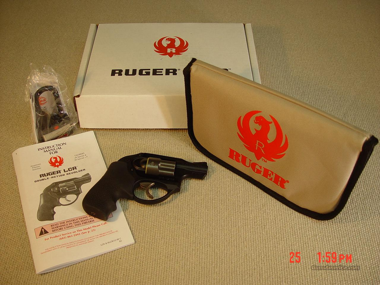 RUGER LCR 38 SPL + P  Guns > Pistols > Ruger Double Action Revolver > SP101 Type