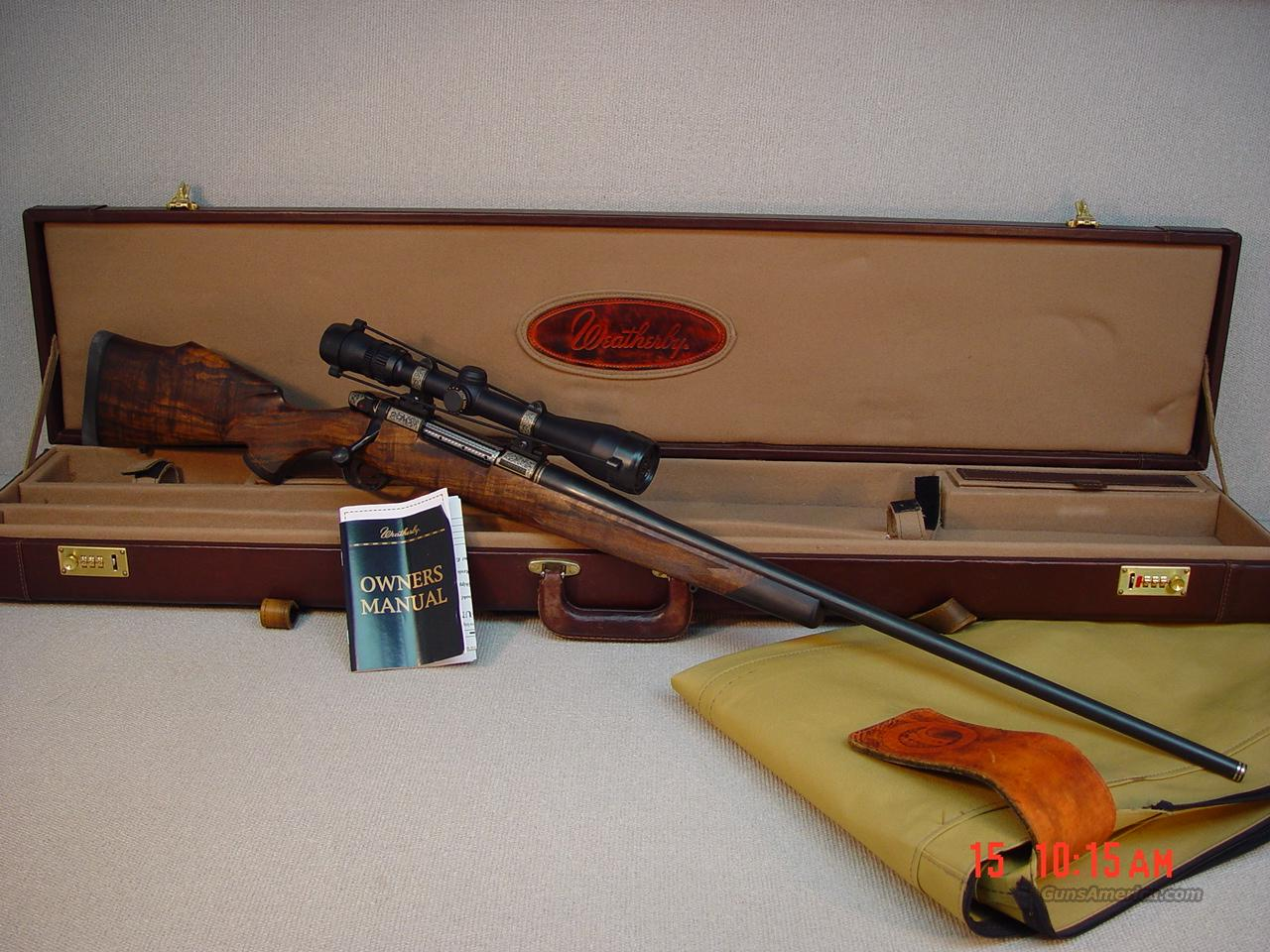WEATHERBY Mark V CUSTOM 300WBY MAG  Guns > Rifles > Weatherby Rifles > Sporting
