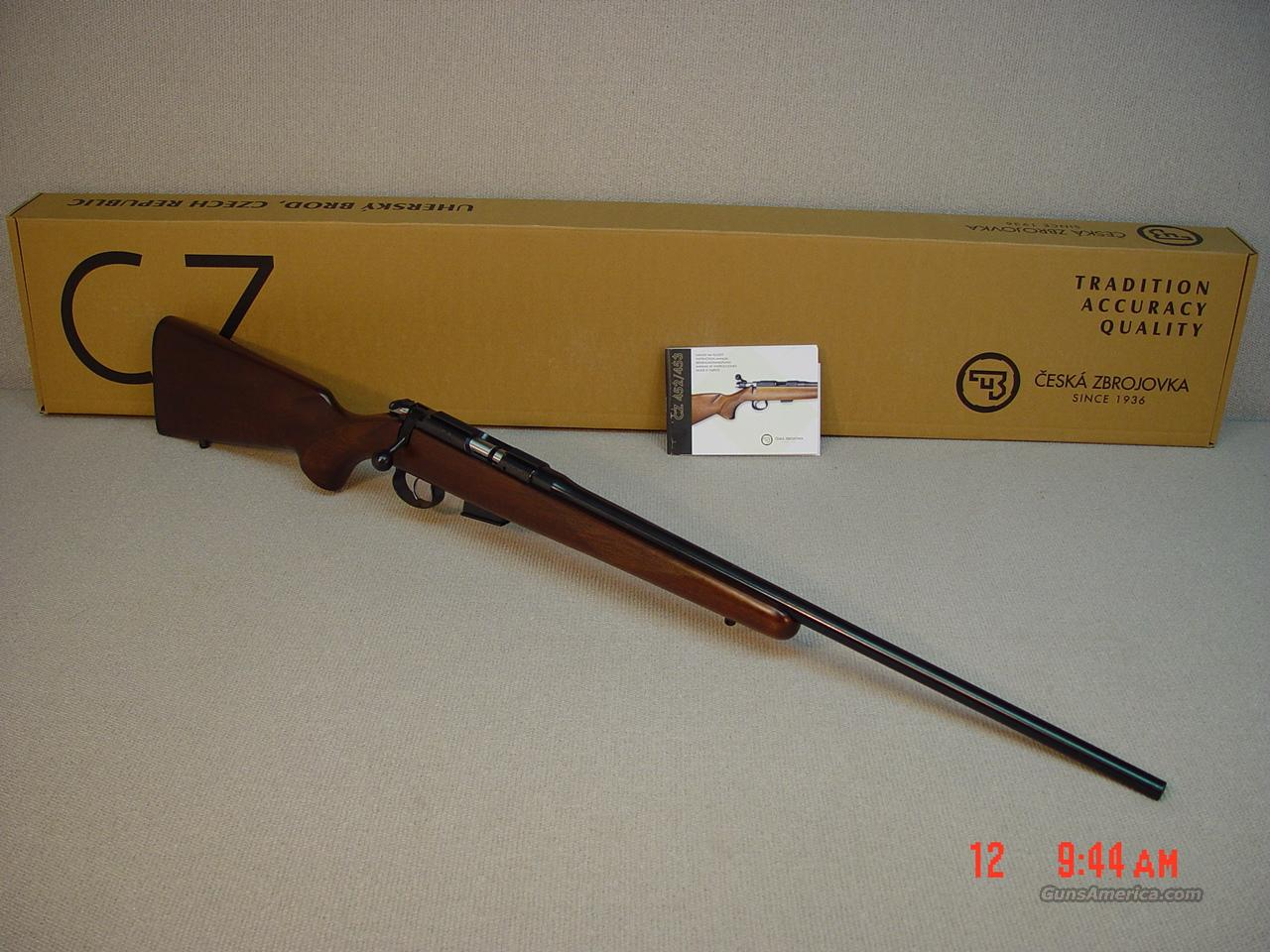 CZ-USA 453 AMERICAN .17HMR with SET TRIGGER  Guns > Rifles > CZ Rifles