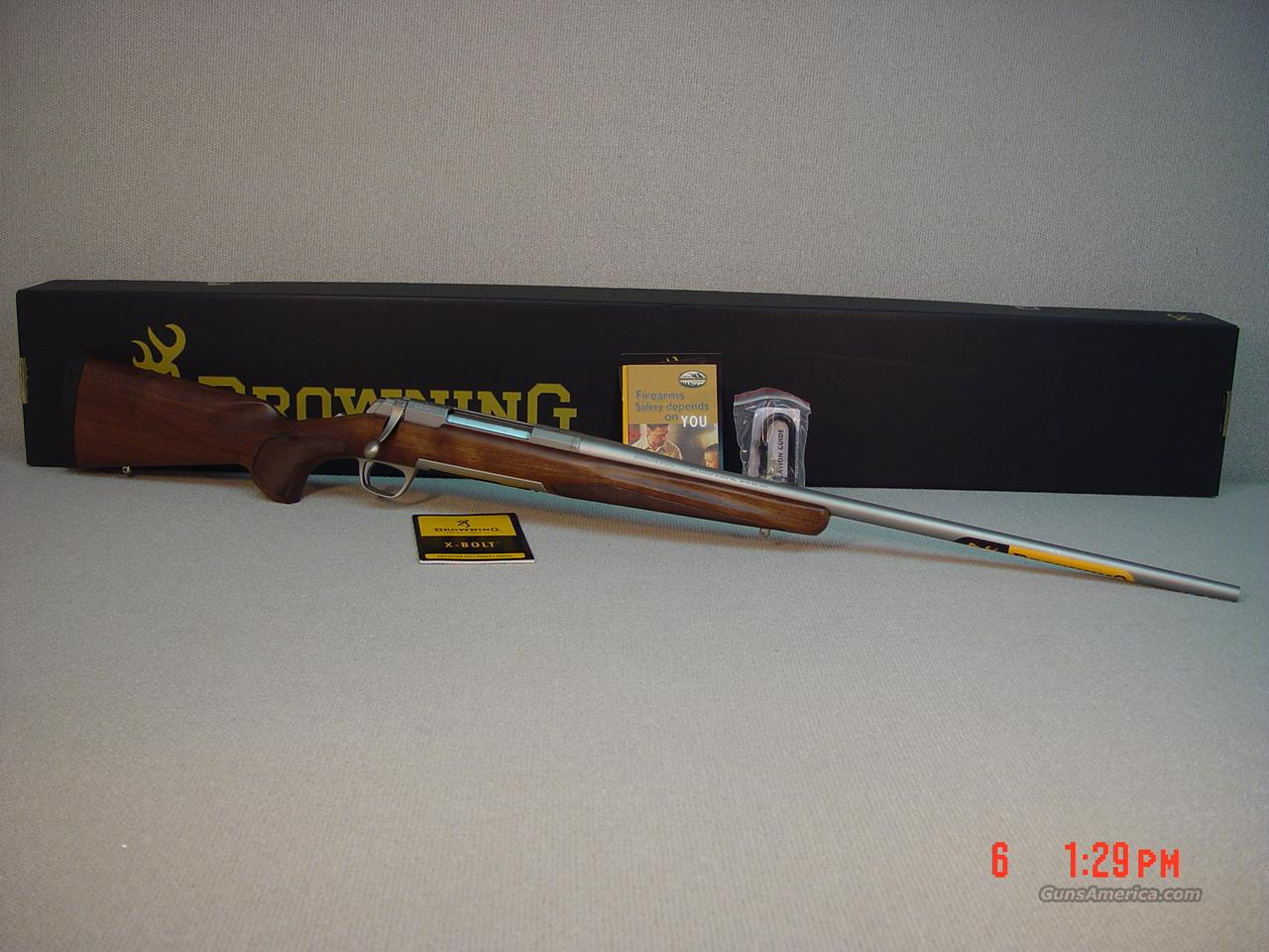 BROWNING X-BOLT HUNTER STAINLESS 300WINMAG CAL  Guns > Rifles > Browning Rifles > Bolt Action > Hunting > Stainless
