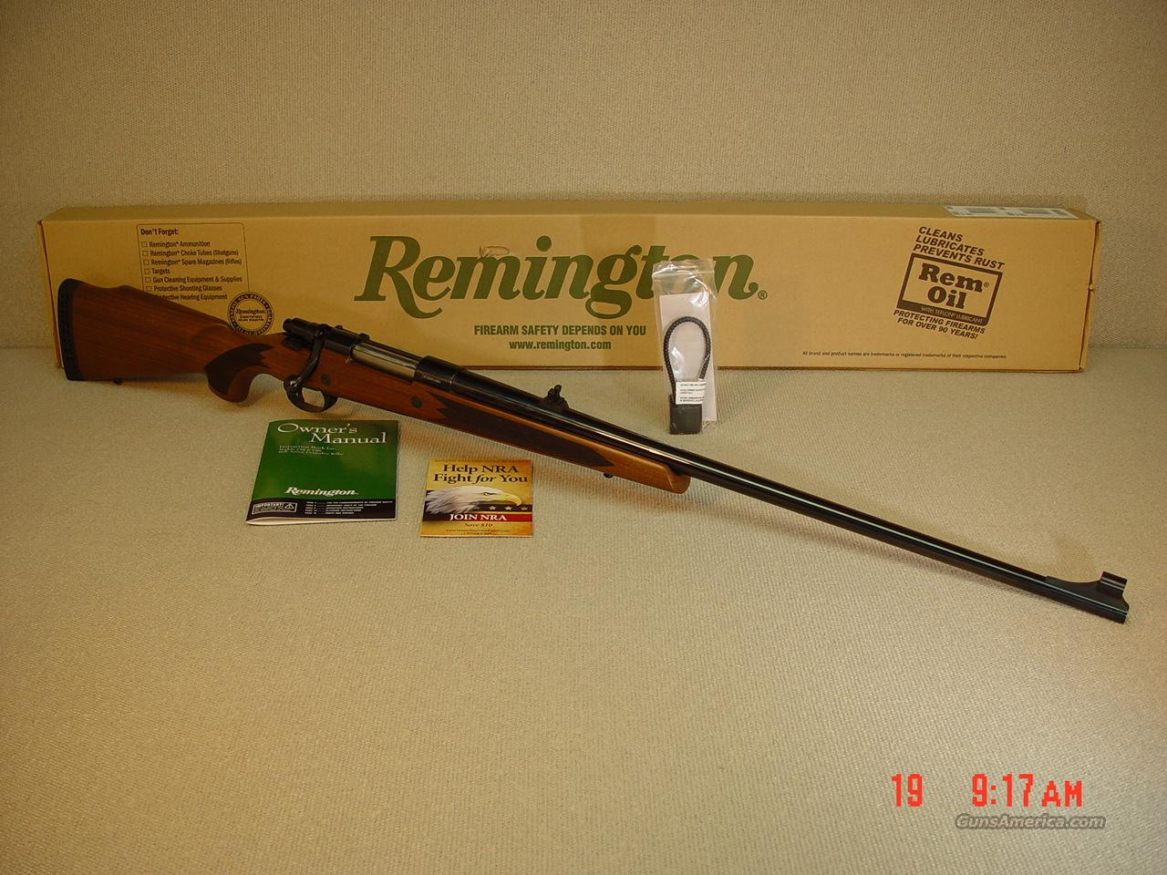 REMINGTON Model 798 WALNUT 375 H&H   Guns > Rifles > Remington Rifles - Modern > Bolt Action Non-Model 700 > Sporting