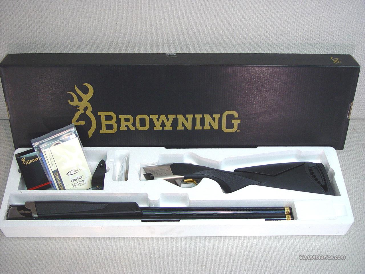 "BROWNING CYNERGY SPORTING ADJUSTABLE COMB-SYNTHETIC 32""  Guns > Shotguns > Browning Shotguns > Over Unders > Cynergy > Hunting"