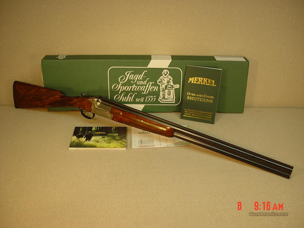 MERKEL Model 2001EL 12 GAUGE  Guns > Shotguns > Merkel Shotguns