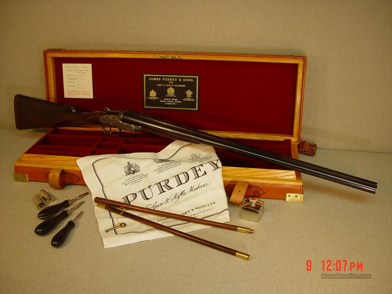PURDEY 'SIGNATURE' 12 GAUGE  Guns > Shotguns > Purdy Shotguns