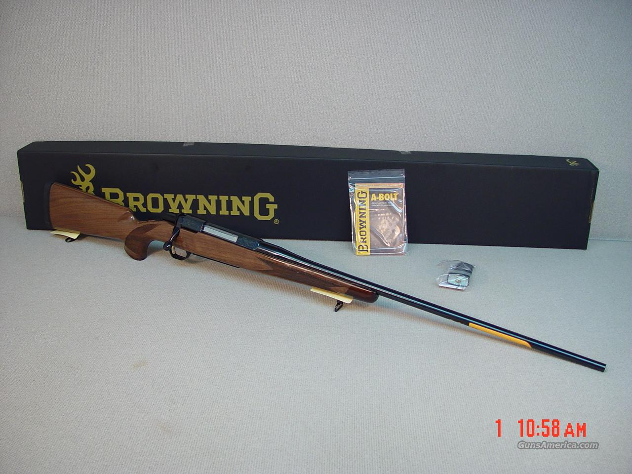 BROWNING A-BOLT II MEDALLION 223CAL  Guns > Rifles > Browning Rifles > Bolt Action > Hunting > Blue