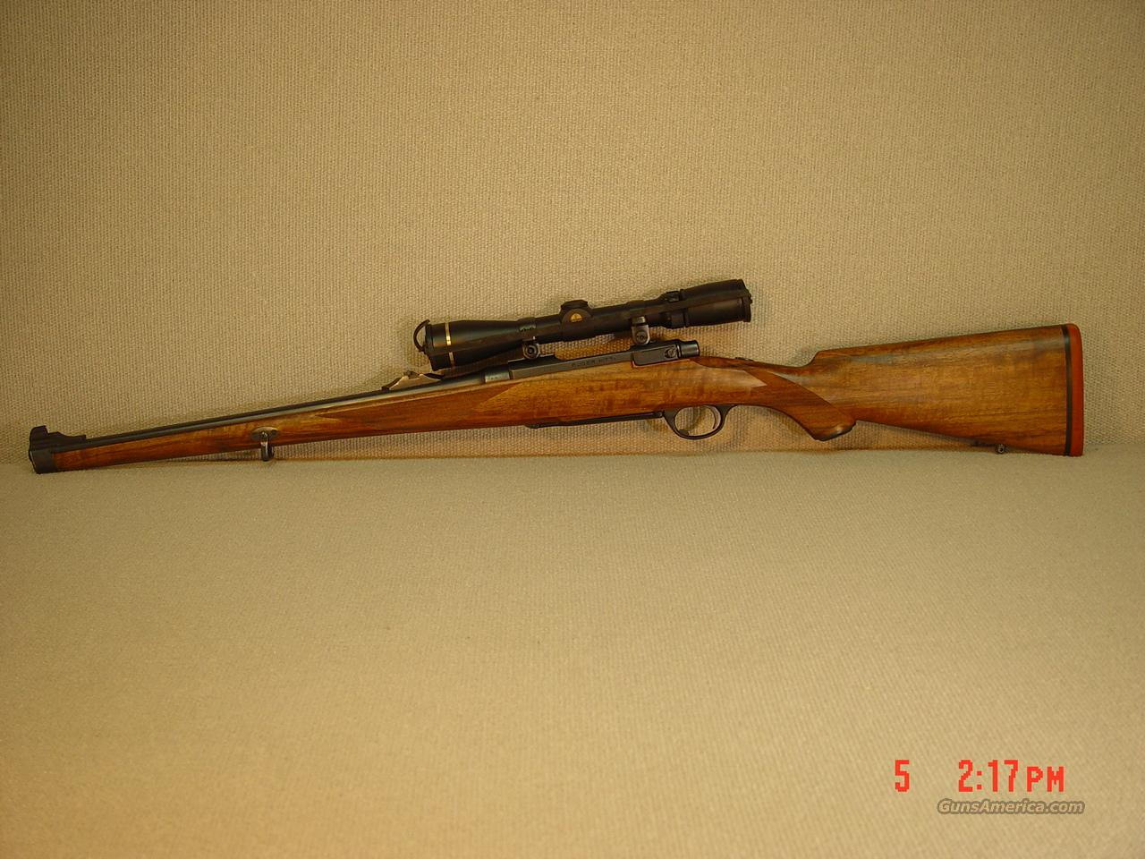 RUGER Model M77RSI CUSTOM with SCOPE  Guns > Rifles > Ruger Rifles > Model 77