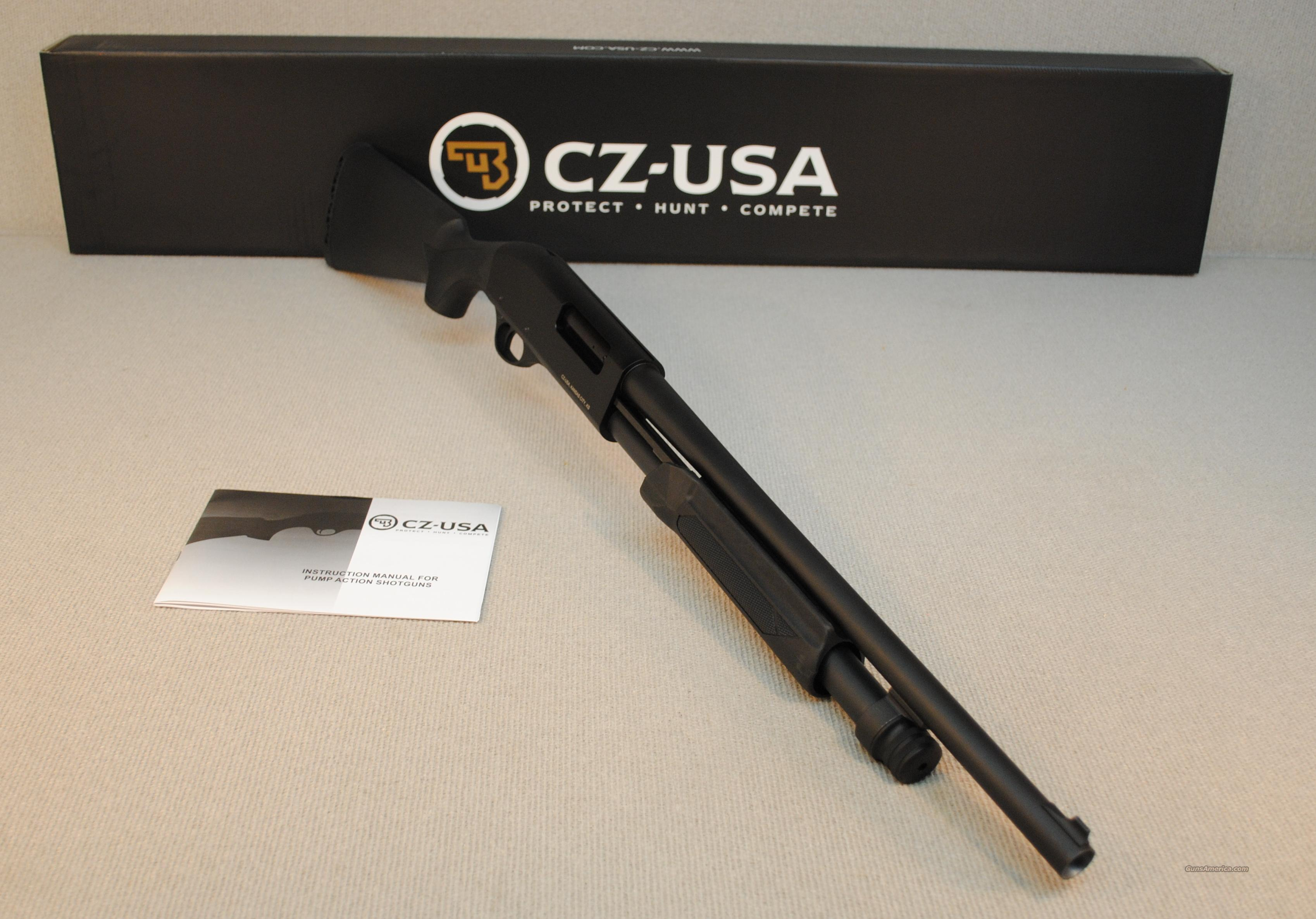 CZ-USA 612 HOME DEFENSE PUMP ACTION SHOTGUN 12 GA  Guns > Shotguns > CZ Shotguns