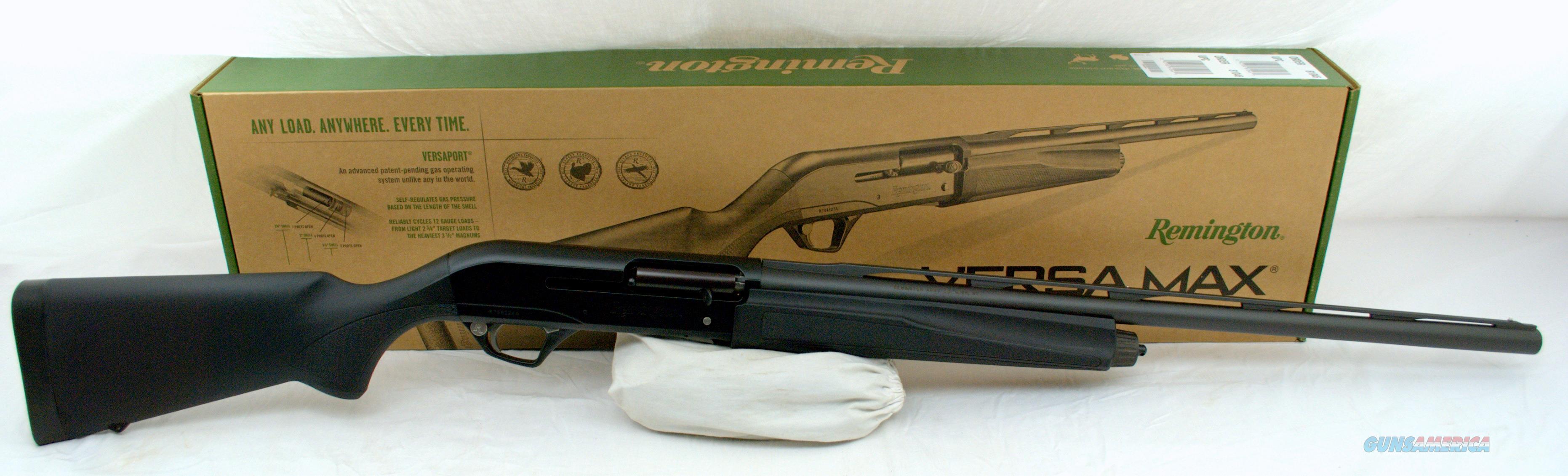 """REMINGTON VERSA MAX 12GA 26"""" SPORTSMAN   Guns > Shotguns > Remington Shotguns  > Autoloaders > Hunting"""