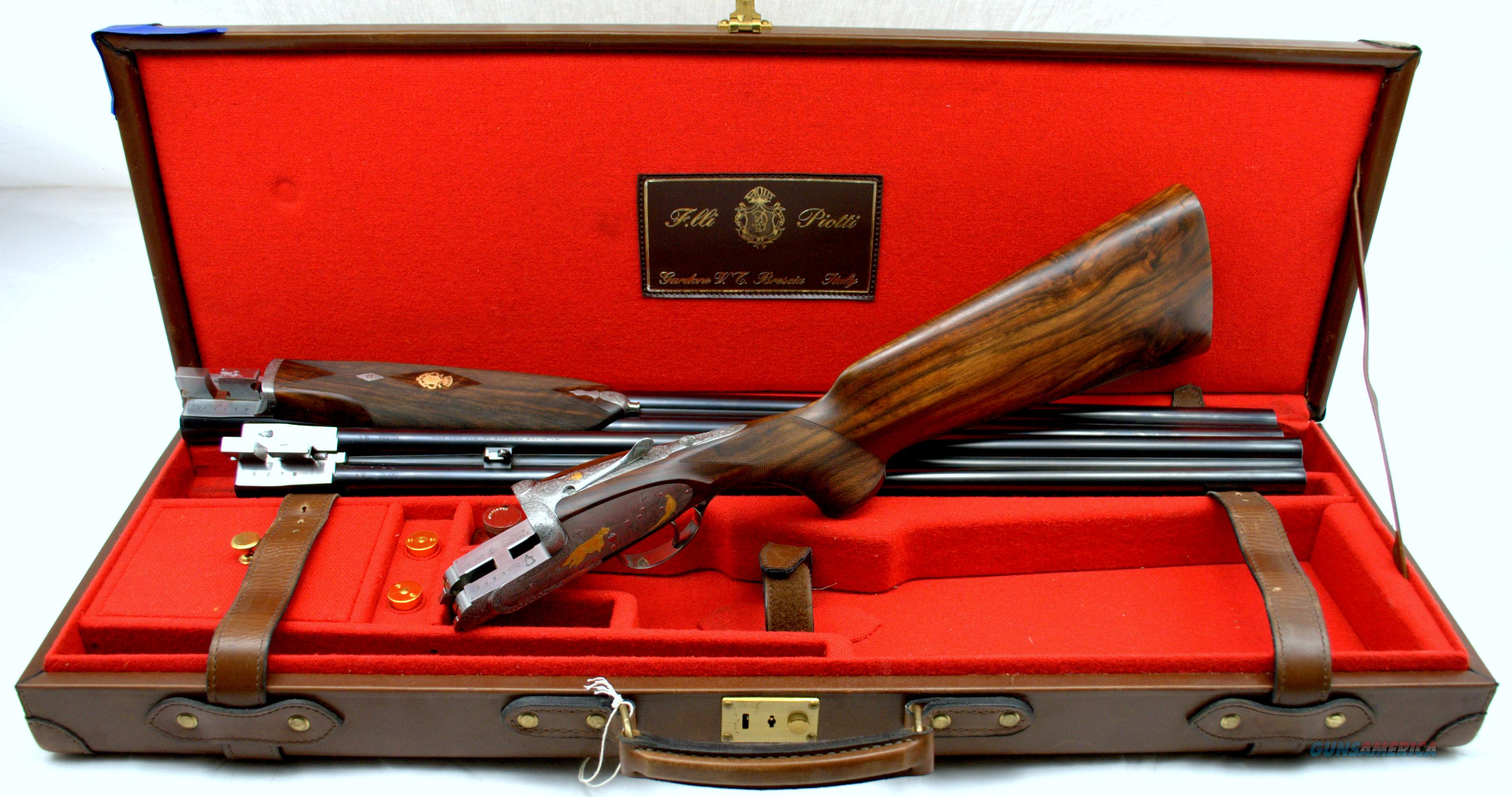PIOTTI KING 20GA with EXTRA BARREL SET & CASE  Guns > Shotguns > Piotti Shotguns