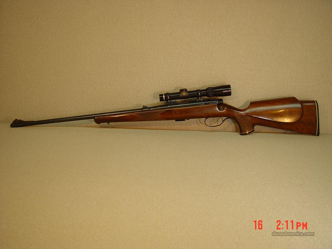 SAVAGE ANSCHUTZ Model 54 SPORTER with SCOPE  Guns > Rifles > Anschutz Rifles