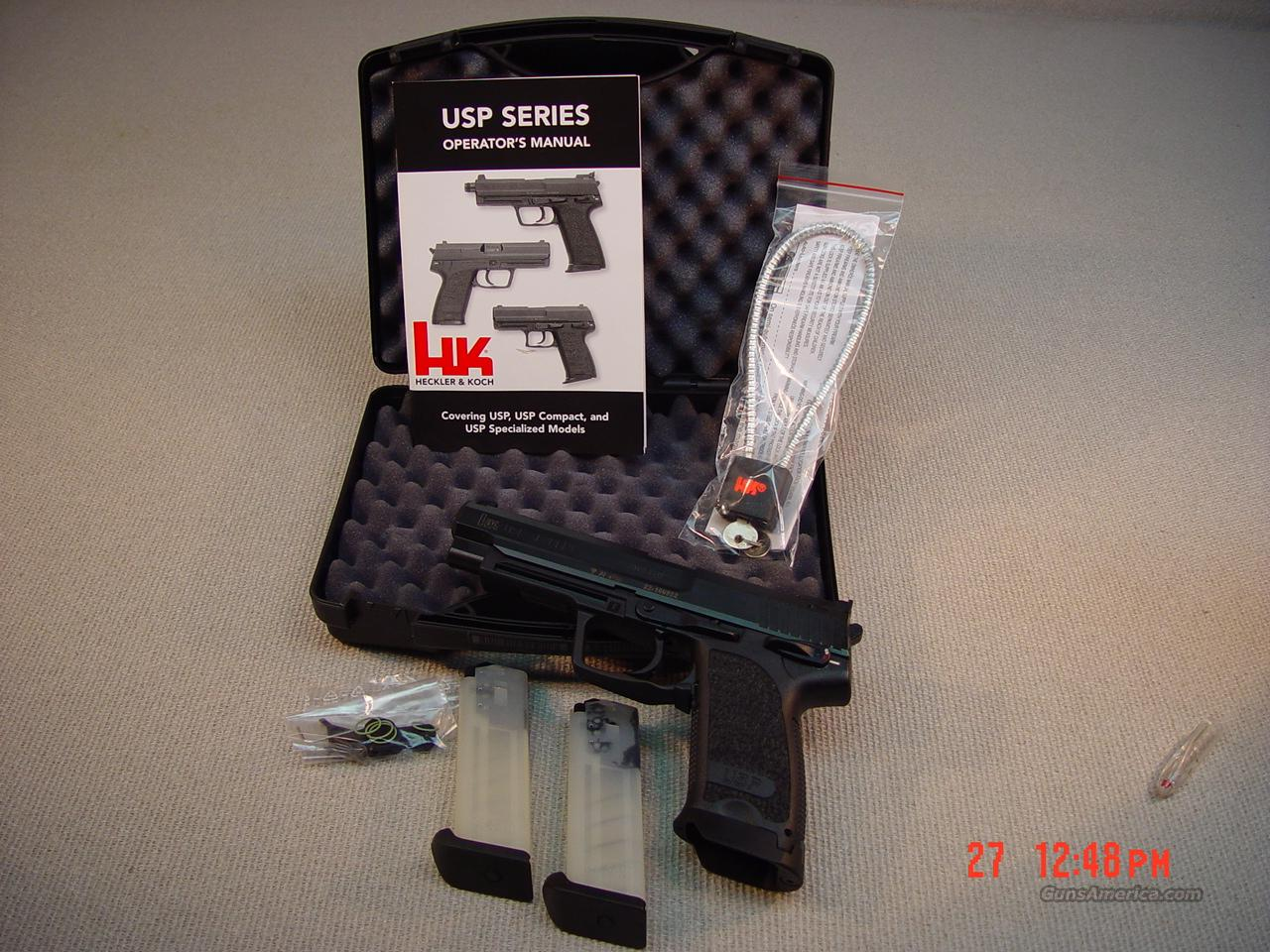 HECKLER & KOCH USP40 EXPERT with TWO MAGS  Guns > Pistols > Heckler & Koch Pistols > Polymer Frame