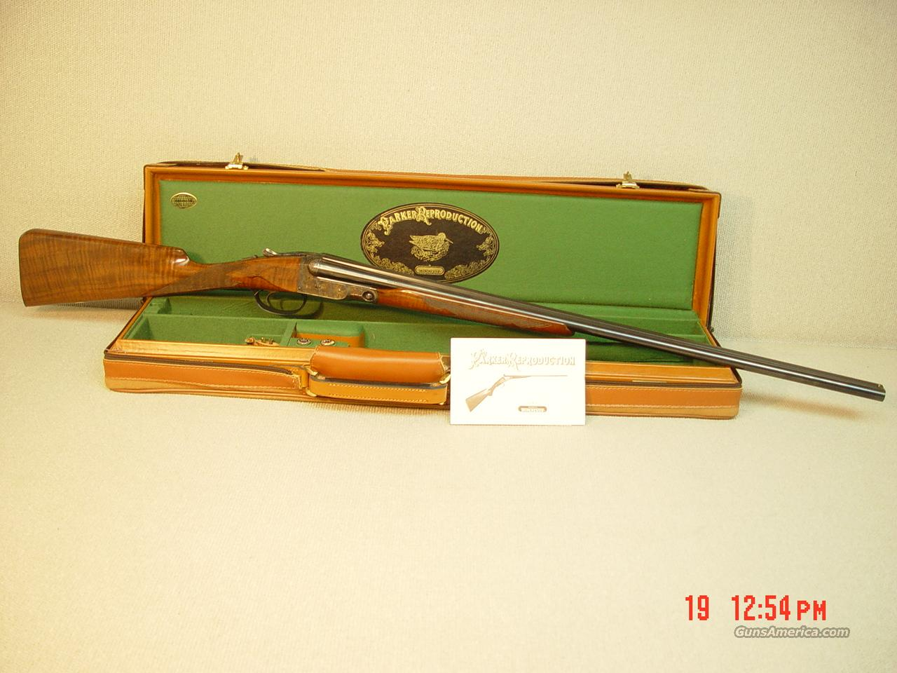 PARKER REPRODUCTION DHE 28 GA with CASE  Guns > Shotguns > Parker Reproductions Shotguns