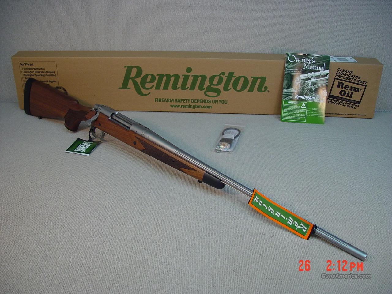 REMINGTON 700CDL 50th ANNIVERSARY 7mm MAG  Guns > Rifles > Remington Rifles - Modern > Model 700 > Sporting