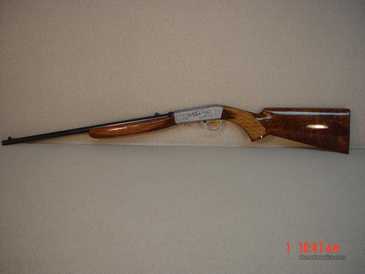 BROWNING BELGIUM GRADE III SEMI-AUTOMATIC 22LR  Guns > Rifles > Browning Rifles > Semi Auto > Hunting