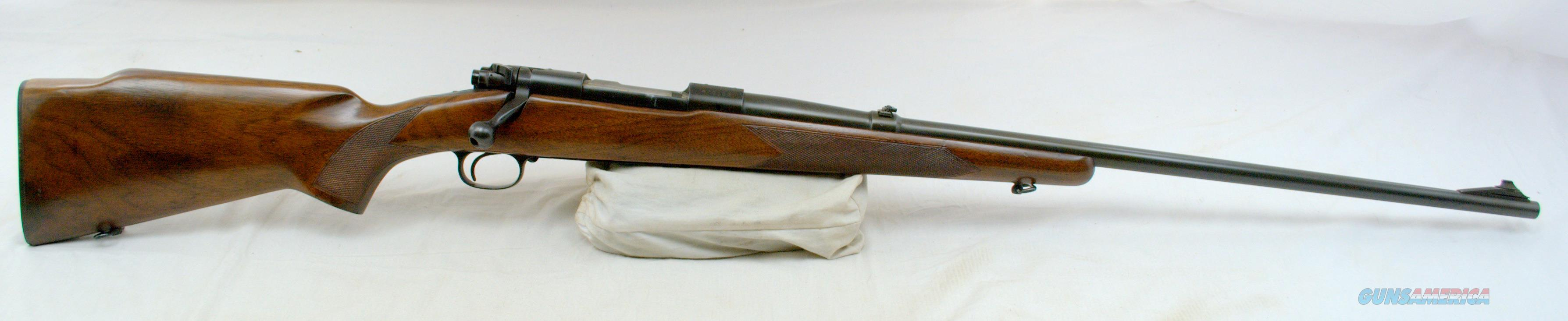 Winchester 70 Westerner Pre 64 Bolt Action Rifle 264 Wm
