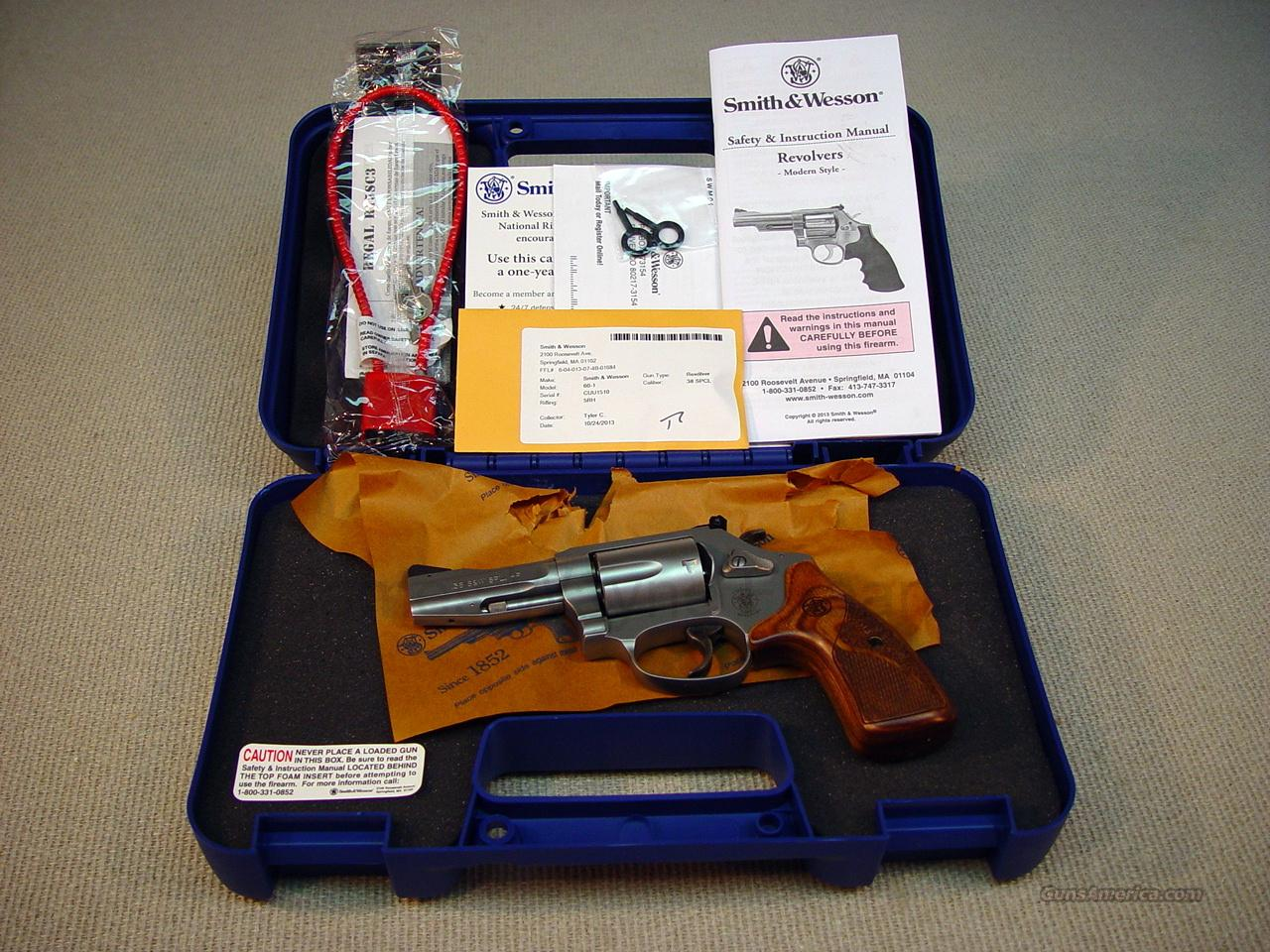 SMITH & WESSON MODEL 60-15 PRO SERIES 38 SPL +P  Guns > Pistols > Smith & Wesson Revolvers > Pocket Pistols