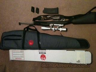 ruger mini 14 stainless  Guns > Rifles > Ruger Rifles > Mini-14 Type