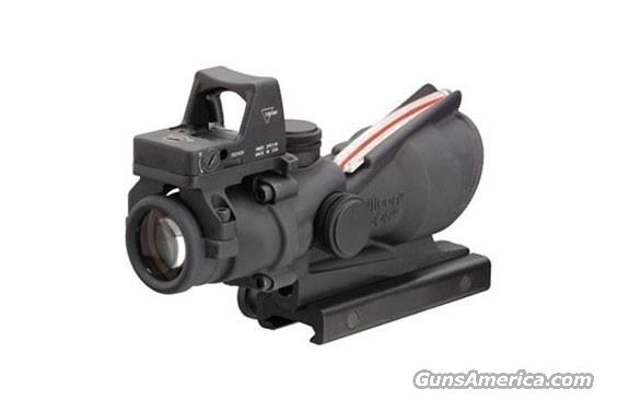 TRIJICON ACOG TA31RMR 4x32 Red Crosshair 223 (NIB)  Non-Guns > Scopes/Mounts/Rings & Optics > Tactical Scopes > Variable Recticle
