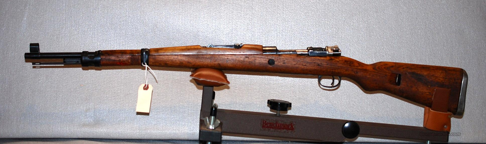 Mauser, K98 Yugo, model 48  Guns > Rifles > Mauser Rifles > German
