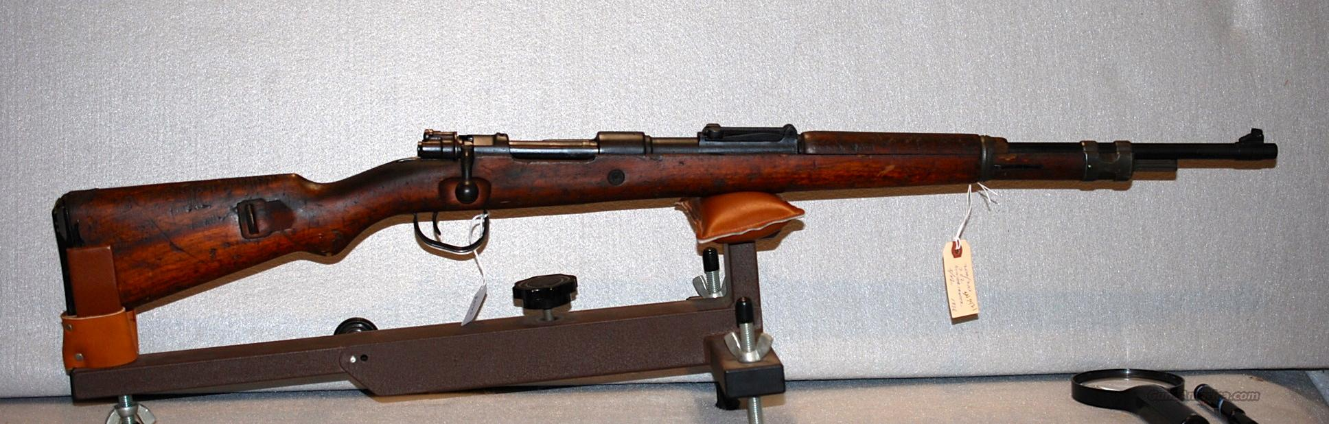 Mauser, German, K98, Russian capture/Israeli   Guns > Rifles > Mauser Rifles > German
