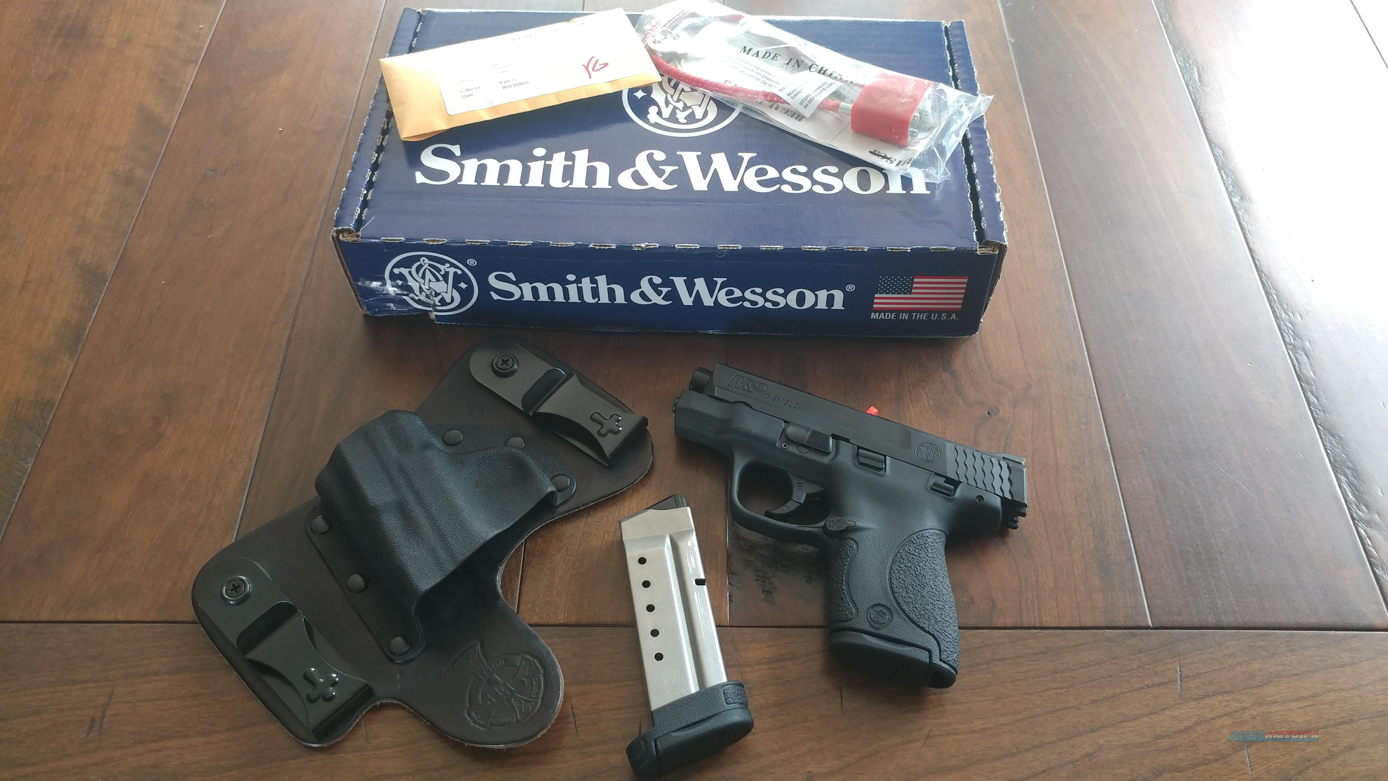 *** Smith & Wesson M&P 40 Shield ***  Guns > Pistols > Smith & Wesson Pistols - Autos > Shield