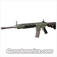 "Knight's Armament SR-15E3 IWS Carbine with 16"" Barrel - Green (OD Green) (24002-GRN)   Knight's Manufacturing Rifles"