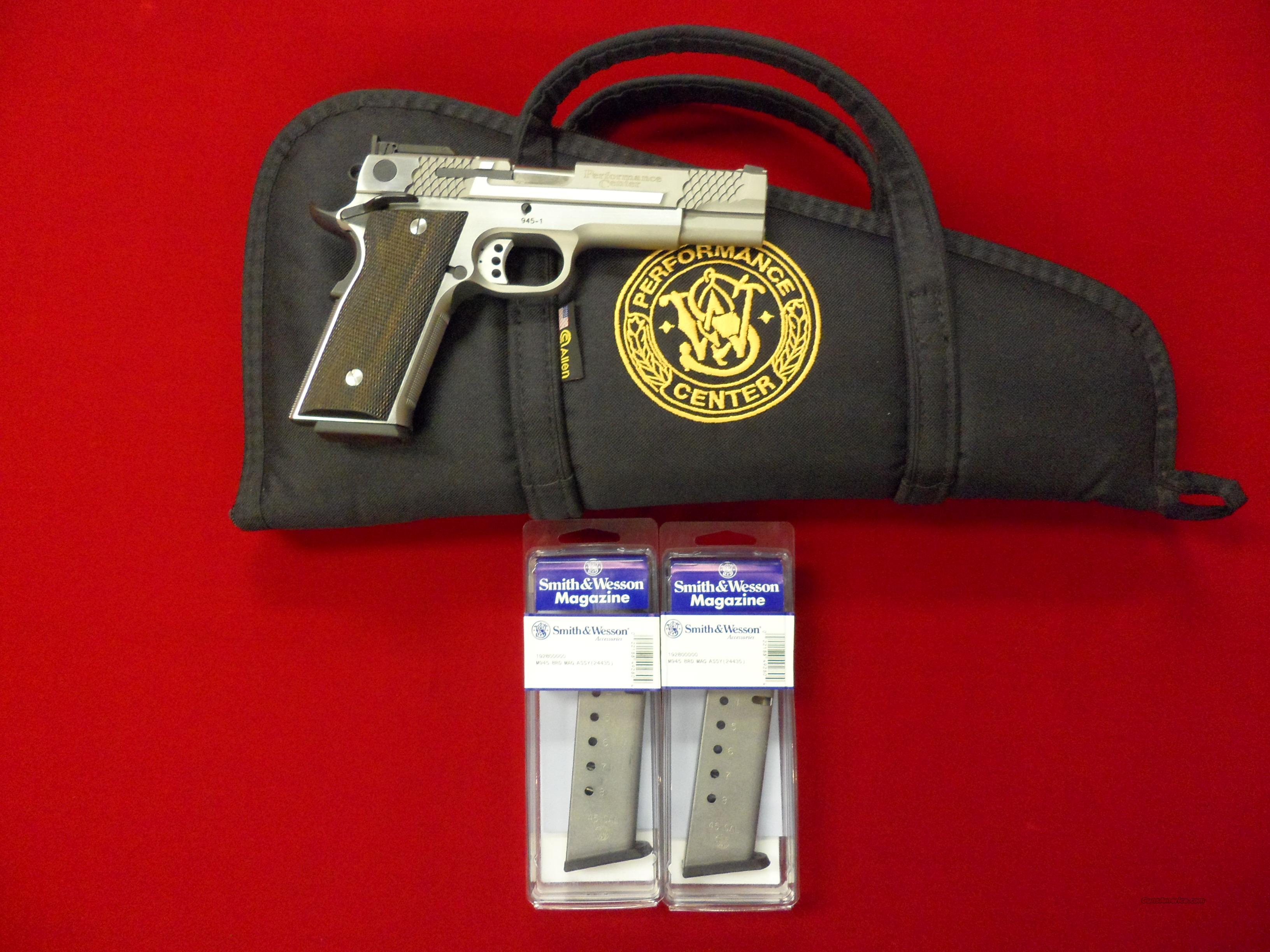Smith & Wesson 45cal Model 945 New   Guns > Pistols > Smith & Wesson Pistols - Autos > Steel Frame
