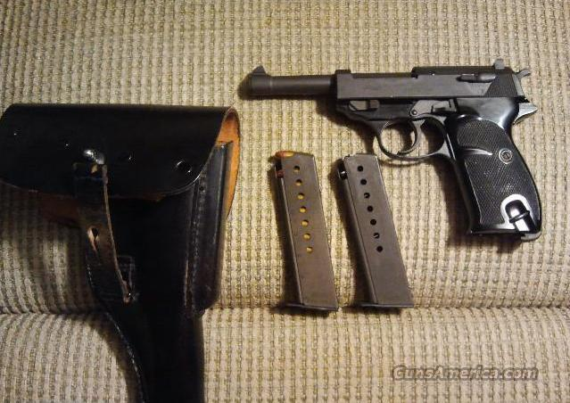 Walther P-38 German  Guns > Pistols > Walther Pistols > Post WWII > P38