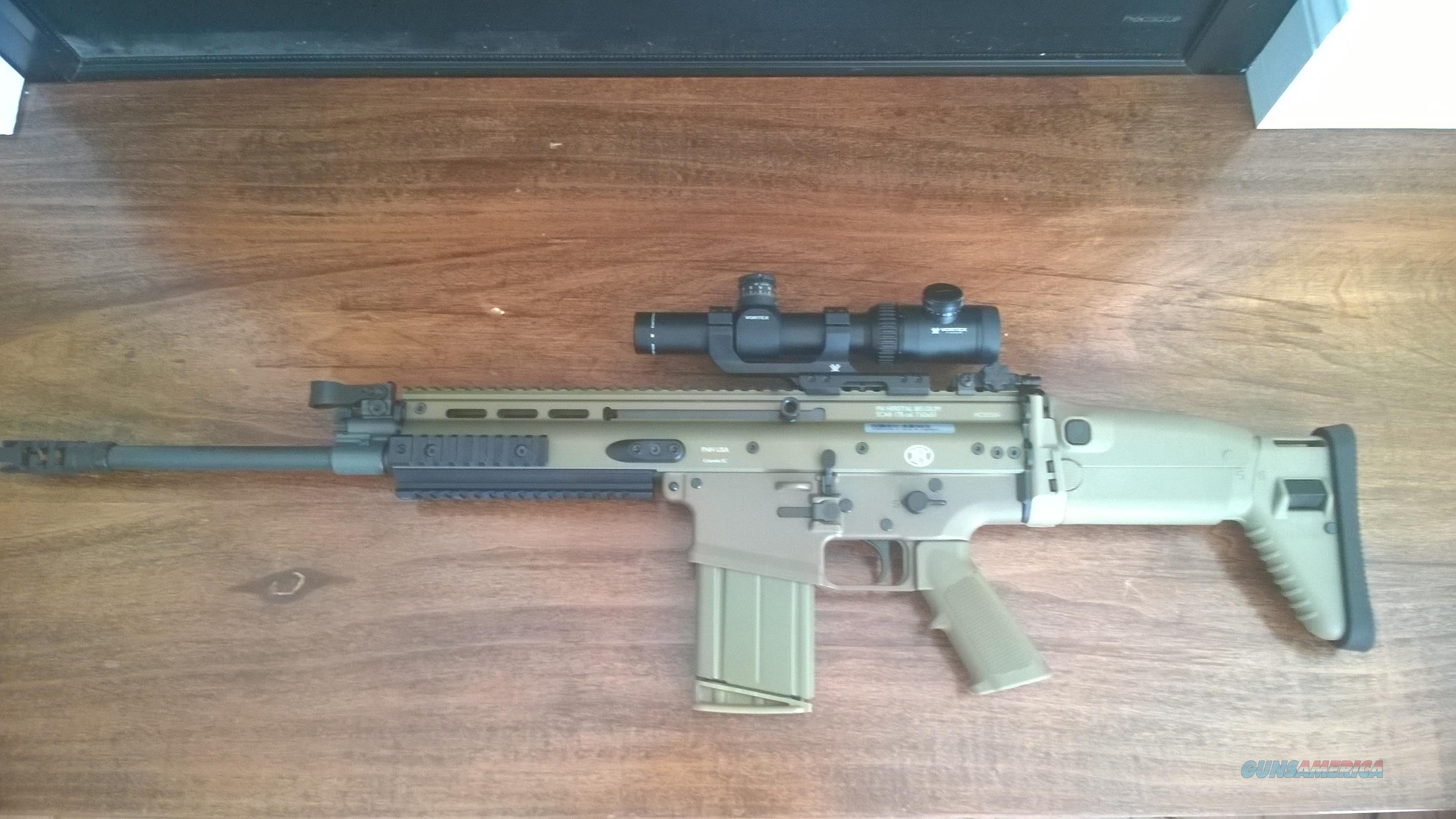 FN SCAR 17 FDE with 8 FN Mags  Guns > Rifles > FNH - Fabrique Nationale (FN) Rifles > Semi-auto > Other