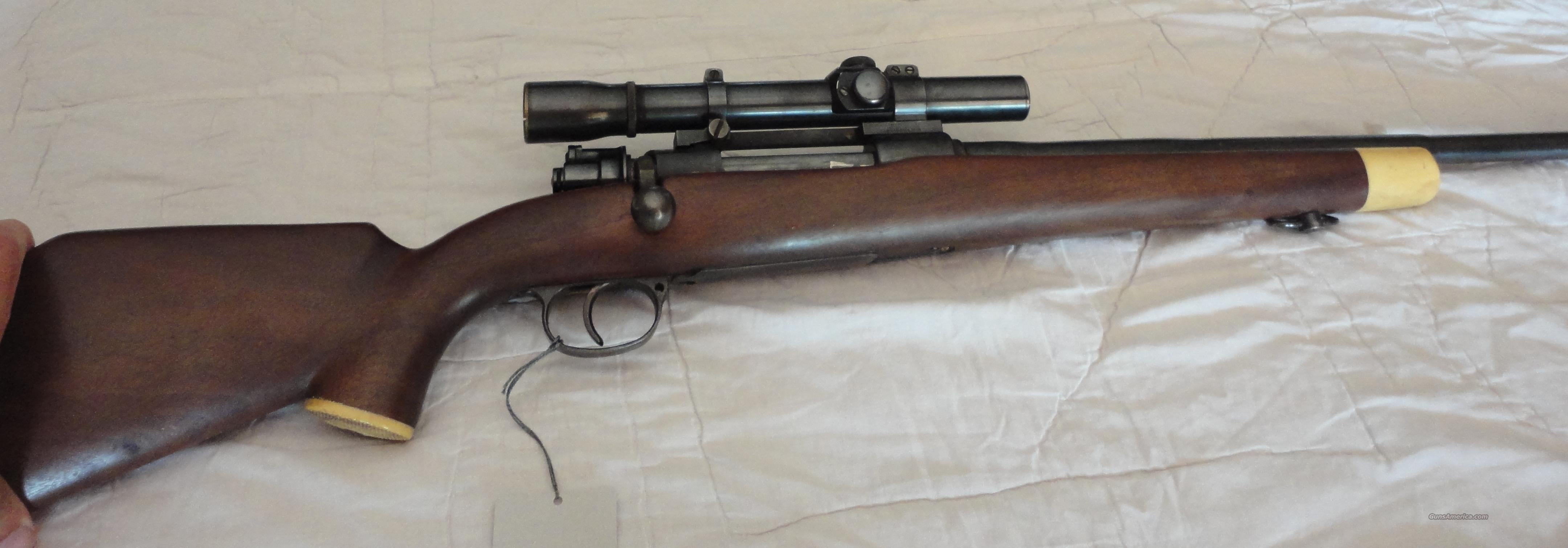 Sporterized German Mauser Std 8 MM  Guns > Rifles > Mauser Rifles > German