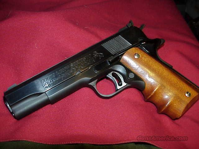 COLT 45 AUTO GOLD CUP NATIONAL MATCH  Guns > Pistols > Colt Automatic Pistols (1911 & Var)
