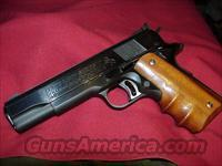 COLT 45 AUTO GOLD CUP NATIONAL MATCH  Colt Automatic Pistols (1911 & Var)