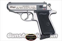 Walther 2246004 PPK 380AP SS NEW Tommys Gun  Guns > Pistols > Walther Pistols > Post WWII > PPK Series